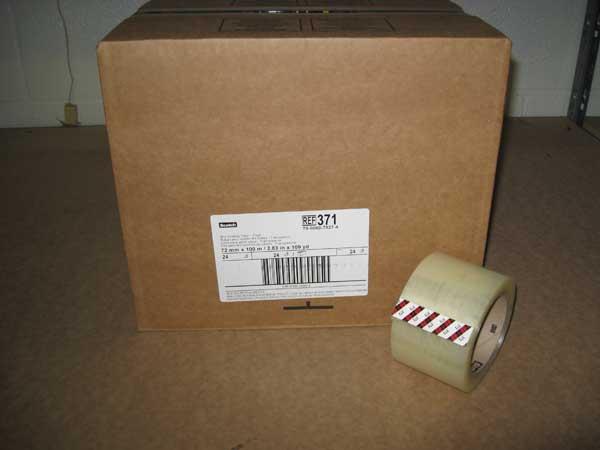 "12 Rolls Carton Sealing Clear Packing//Shipping//Box Tape 3/"" x 110 Yards"