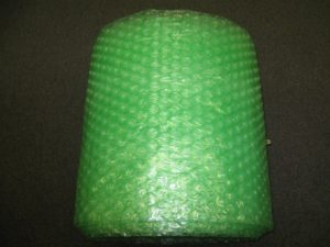 1/2″ Large Green Recycled Bubble, 12″ x 250′ Per Bundle