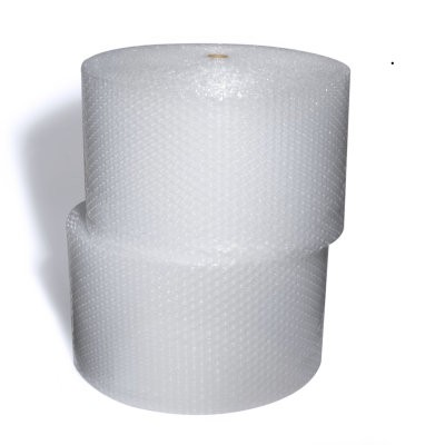 """3//16/"""" Recycled Small Green Bubble 12/"""" x 300/' Per Roll"""